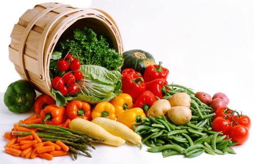 норма овощей в день